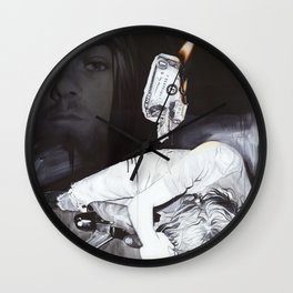 '#uck Fame' Wall Clock