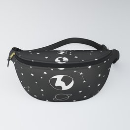 What's wrong? - Solar System Illustration Fanny Pack