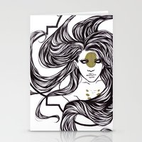clover Stationery Cards featuring Clover by Cassie Wolfe