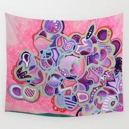 Radioactive Cactus Wall Tapestry
