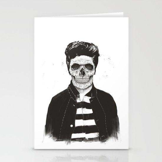 Death fashion Stationery Cards