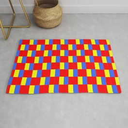 Mix of flag: Paris and Roma. Rug