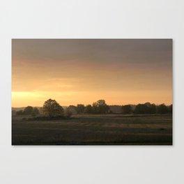 Sunrise in August Canvas Print