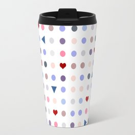 Arcade Pattern Travel Mug