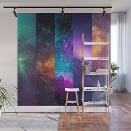 Galaxy Collage Wall Mural