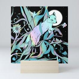 Wild Emergence (Warm Freeze) Mini Art Print