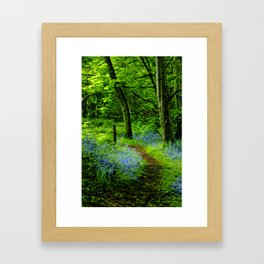 If you go down in the woods today. Framed Art Print