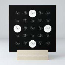 "Fireworks | ""Spider (Skeletal)"" | White | [D0949~03_015] (Medley Special) Mini Art Print"
