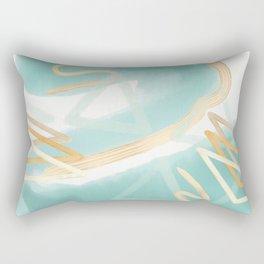 Beach Vibes Rectangular Pillow
