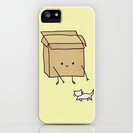 Boxes love cats iPhone Case
