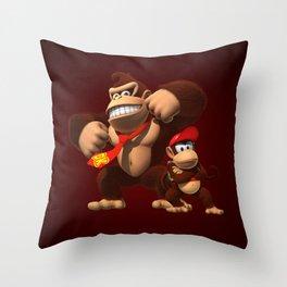 Father & Jr. Throw Pillow