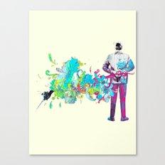 Le romantique Canvas Print