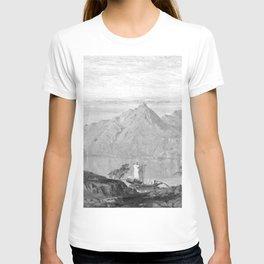 William Trost Richards - Lake Maggiore T-shirt