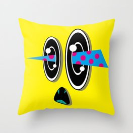 NOiSE (Original Characters Art By AKIRA) Throw Pillow