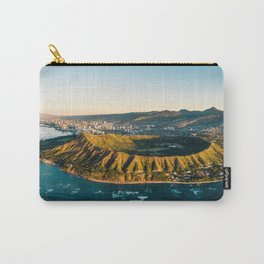 Diamond Head Panorama Carry-All Pouch