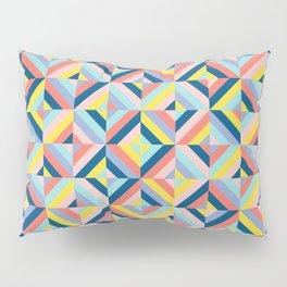 Abstract Mosaic Diamonds Pillow Sham