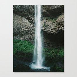 Oregon Waterfall Canvas Print