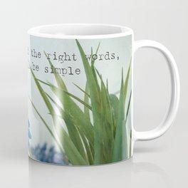 the right words Coffee Mug