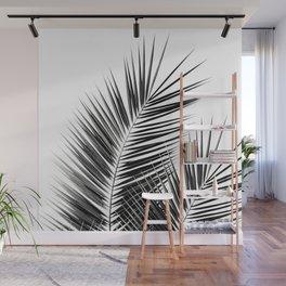 Black Palm Leaves Dream - Cali Summer Vibes #1 #tropical #decor #art #society6 Wall Mural
