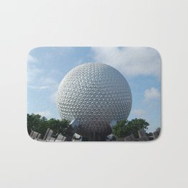 Spaceship Earth Bath Mat