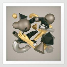 Corporeal / One v2 Art Print