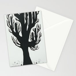 Tree of Floating Stars Stationery Cards