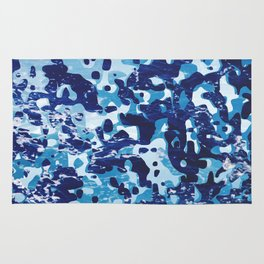 Surfing Camouflage #1 Rug