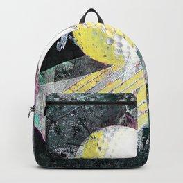 Golf art print work 17 Backpack