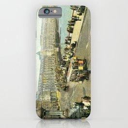 Victorian Douglas Isle of Man Loch Promenade iPhone Case