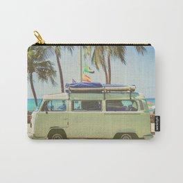 Surf Van Road Trip Beach California Carry-All Pouch