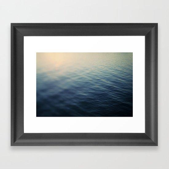 Summer's Magic Framed Art Print