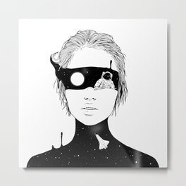 If I Could Just See You from Up Here Metal Print