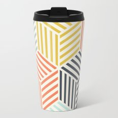 Colorful Geometric Travel Mug