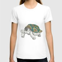 tortoise T-shirts featuring Tortoise by Ouizi - Los Angeles