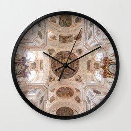 Waldsassen Basilica Ceiling (Crossing) Wall Clock