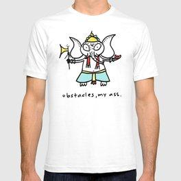 obstacles, my ass (ganesha) T-shirt