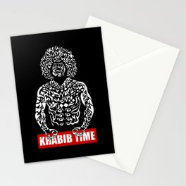 Khabib Angry Time Stationery Cards