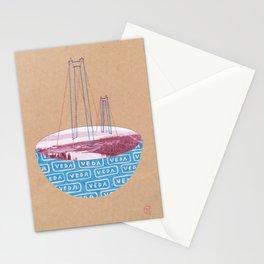 Bridge in Veda Stationery Cards