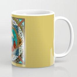 Fire & Water Mandala Coffee Mug