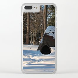 Treasure Uncovered Clear iPhone Case