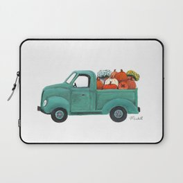 Pumpkin Truck Laptop Sleeve