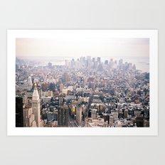 New York City Flatiron District Art Print