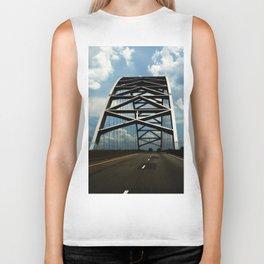 Over the Bridge Biker Tank