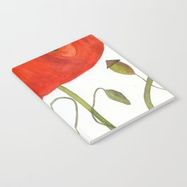 poppies N.o 2 Notebook