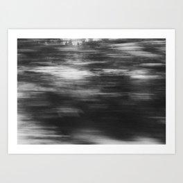 winter texture 1 Art Print