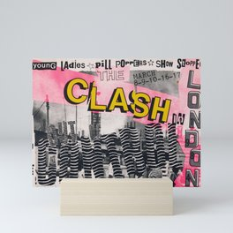 Clash - Vintage Poster Mini Art Print