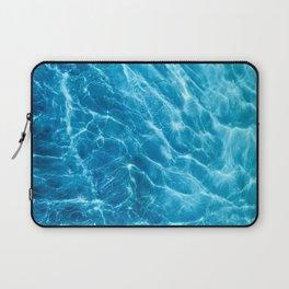 Ripple Water, Sun Reflection Water, Blue Water Laptop Sleeve