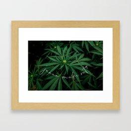 'Juana Make Out? Framed Art Print