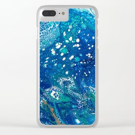Water Dragon Clear iPhone Case