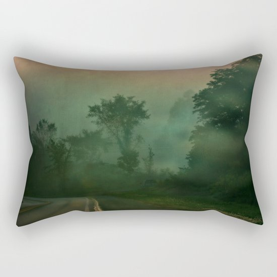 Jump in to the Fog Rectangular Pillow
